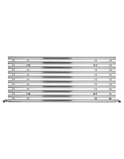 Related SBH Tubes Horizontal 1300 x 560mm Stainless Steel Electric Radiator