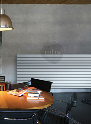 MHS Carissa Single Horizontal Radiator 1000 x 595mm White