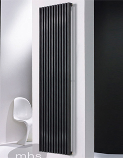 Related MHS Zenon Vertical Double Anthracite Designer Radiator 464 x 1800mm
