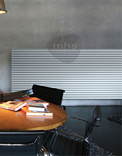 Related MHS Carissa Double Tube Horizontal Radiator 1200 x 595mm White