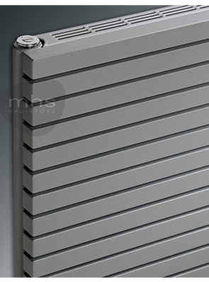MHS Carissa Double Tube Horizontal Radiator 1400 x 595mm Anthracite