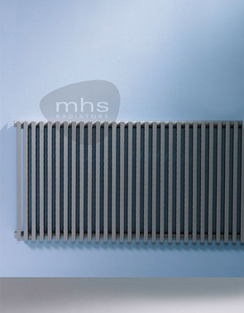 Related MHS Zenon Line Horizontal Single Anthracite Designer Radiator 1184 x 600mm
