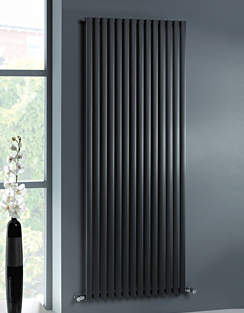 Related MHS Ellis Anthracite Vertical Designer Radiator 400 x 1800mm