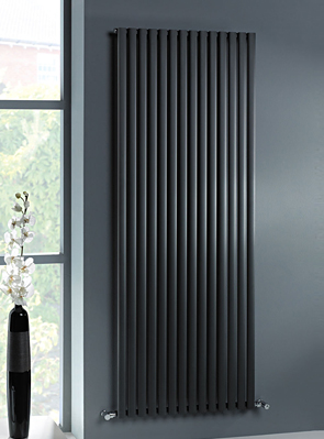MHS Ellis Anthracite Vertical Designer Radiator 500 x 1800mm