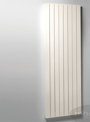 MHS Velocity Vertical White Designer Radiator 375 x 1800mm