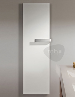 Related MHS Xterras Single Rounded Edge White Designer Radiator 440 x 1820mm