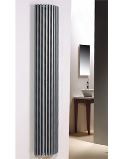 Related MHS Zenon Line Semi-Round Anthracite Designer Radiator 393 x 1800mm