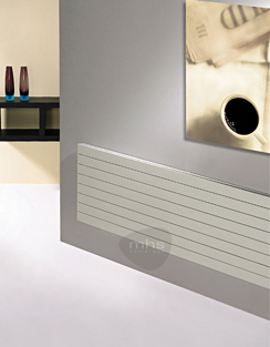 More info MHS Havana 800 x 433mm Horizontal Designer Radiator White
