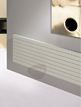 MHS Havana 800 x 433mm Horizontal Designer Radiator White