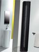 MHS Zenon Line Angled White Designer Radiator 268 x 1400mm
