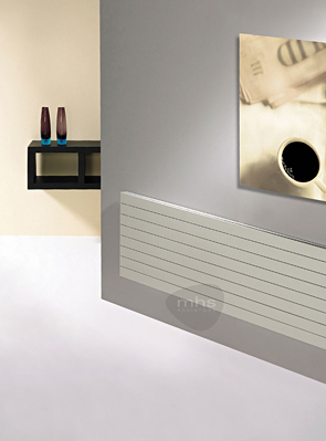 MHS Havana 1600 x 578mm Horizontal Designer Radiator White
