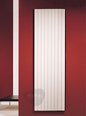 MHS Havana 360 x 2000mm Vertical Designer Radiator White
