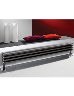More info MHS Zenon Plinth Anthracite Designer Radiator 1200 x 254mm