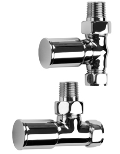 More info SBH Modern Style Straight And Angled Chrome Radiator Valves