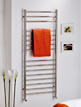 MHS Alara Straight 350 x 1500mm Electric Towel Rail