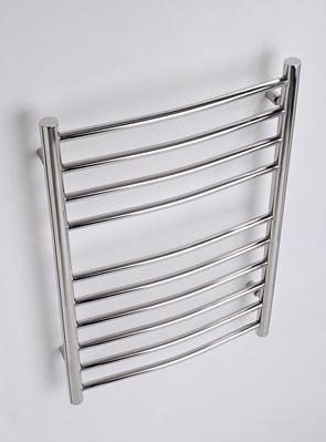 MHS Alara Curved Heated Towel Rail 600 x 1200mm