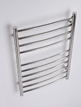 MHS Alara Curved Dual Fuel Heated Towel Rail 600 x 1200mm