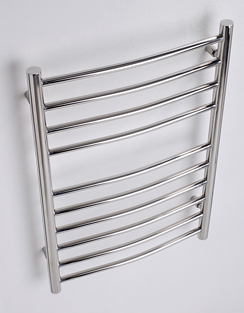 More info MHS Alara Curved Heated Towel Rail 500 x 430mm