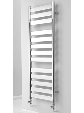 MHS Neos Chrome Heated Towel Rail 500 x 1306mm