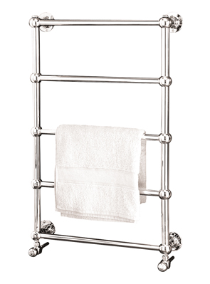 MHS Empire 60 Dual Fuel Heated Towel Rail 600 x 920mm