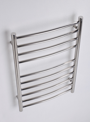 MHS Alara Curved 500 x 430mm Electric Towel Rail