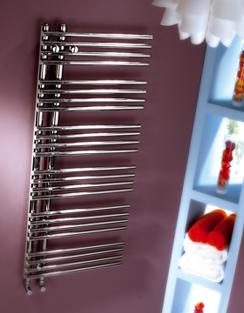 Related MHS Comb 500 x 1200mm Stainless Steel Heated Towel Rail