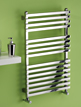 MHS Square Electric Adjustable Towel Rail 600 x 1200mm
