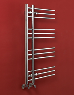 More info Phoenix Eden 500 x 900mm Designer Heated Towel Rail