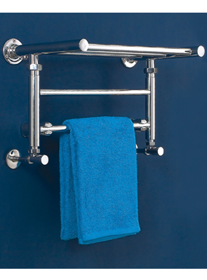 Phoenix Eve 532 x 294mm Designer Wall Mounted Heated Towel Rail