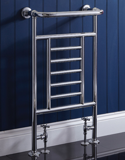 Related Phoenix Catherine 535 x 914mm Traditional Style Heated Towel Rail