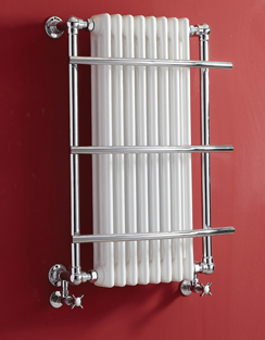More info Phoenix Helena 635 x 874mm Traditional Style Heated Towel Rail