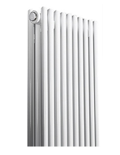 More info Apollo Rimini Straight Double Tube On Tube White Radiator 400 x 1000mm