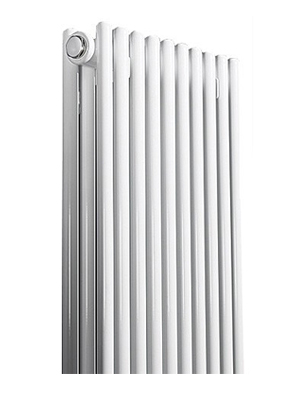 Apollo Rimini Straight Double Tube On Tube White Radiator 600 x 1200mm