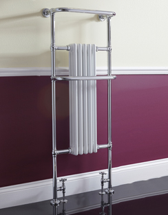 More info Phoenix Ella 590 x 1500mm Traditional Style Heated Towel Rail