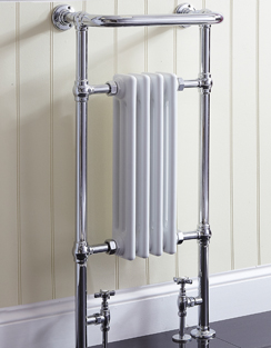 More info Phoenix Victoria 479 x 952mm Traditional Style Heated Towel Rail