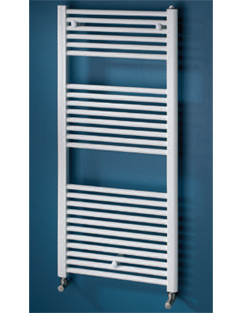 More info MHS Space 450 x 1200mm Straight Heated Towel Rail White