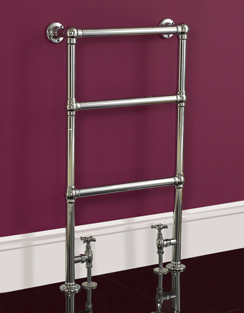 More info Phoenix Elizabeth 535 x 914mm Traditional Style Heated Towel Rail