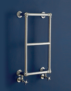 More info Phoenix Anne 400 x 700mm Traditional Style Heated Towel Rail