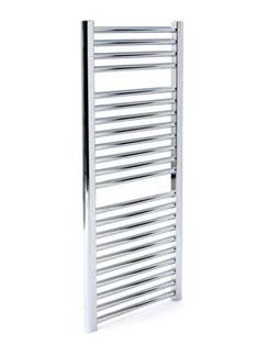More info Apollo Napoli Straight Towel Rail 500 x 1100mm White