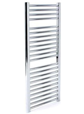 Apollo Napoli Straight Towel Rail 600 x 1700mm White