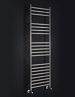 More info Phoenix Athena 350 x 430mm Stainless Steel Heated Towel Rail