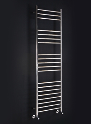 Phoenix Athena 350 x 430mm Stainless Steel Heated Towel Rail