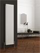 Reina Colona White 3 Column Vertical Radiator 380 x 1800mm