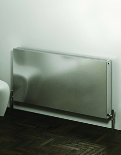 More info Reina Panox Brushed Stainless Steel Designer Radiator 600 x 600mm