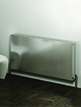 Reina Panox Brushed Stainless Steel Designer Radiator 1200 x 600mm