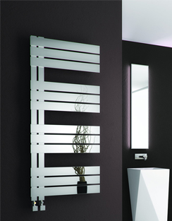 Related Reina Ricadi Polished Stainless Steel Designer Radiator 500 x 840mm