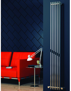 More info Reina Veneso Chrome Designer Radiator 240 x 1800mm