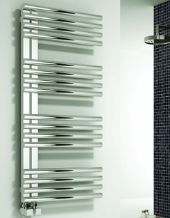 More info Reina Adora Polished Stainless Steel Designer Radiator 500 x 800mm