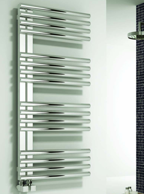 Reina Adora Polished Stainless Steel Designer Radiator 500 x 800mm
