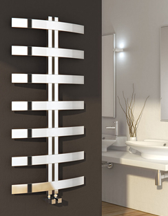 More info Reina Riesi 600 x 1200mm Polished Stainless Steel Radiator
